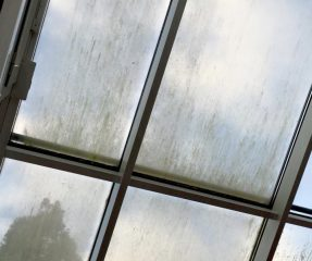 Fenster schmutzig